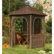 Rowlinson Garden Products Willow Gazebo 2.48 x 2.15 x 2.65m