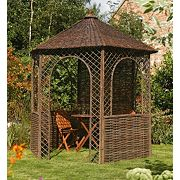 Rowlinson Garden Products Willow Gazebo 2.48 x 2.15 x 2.65m