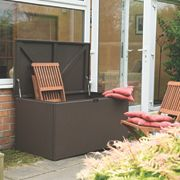 Rowlinson All-Weather Deck Box Rattan-Effect 4