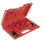 Plumbers Holesaw Kit 8 Pieces