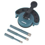 Erbauer Diamond Tile Drill Set 4 Pieces