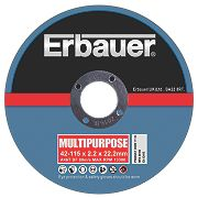 Erbauer Cutting Discs 115 x 2.2 x 22.23mm Pack of 5