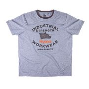 "Hyena Tor T-Shirt Grey Large 42-45"" Chest"
