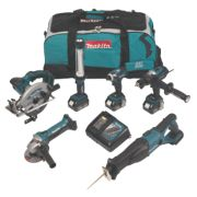 Makita DLX6000M 18V 4.0Ah Li-Ion Cordless 6-Piece Kit LXT