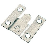 Flush Mounts Zinc-Plated 35 x 37 x 3.75mm Pack of 10