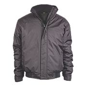 "Site Burr Pilot Jacket Black Large 40-42"" Chest"