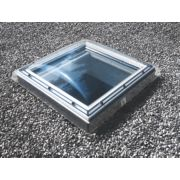 Velux Fixed Flat Roof Window & Dome Clear 1000 x 1000mm