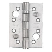 Smith and Locke Security Hinge Satin Stainless Steel 102 x 76mm Pk2