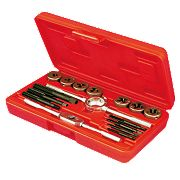 Carbon Steel Tap & Die Set 16Pc