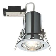 LAP Fire Rated Adjustable LED Downlight IP20 Chrome 2.5W