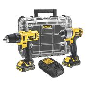 DeWalt DCK211C2T 10.8V 1.3Ah Li-Ion XR Cordless Drill Driver/Impact Driver