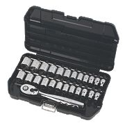 "DeWalt 3/8"" Socket Set 25 Pieces"