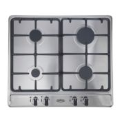 Belling GHU60TGC LPG Gas Hob Stainless Steel 500 x 580mm