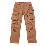 "Carhartt Multi-Pocket Tech Trouser Black 32"" W 32"" L"