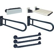 Franke Doc M Bathroom Disability Grab Rails & Rests 7 Piece Set