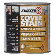 Zinsser Cover Stain Primer White 1Ltr