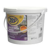 Zep Commercial Multi-Task Wipes White Pack of 300