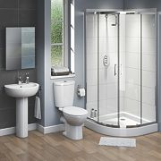 Ashley Contemporary Quadrant Shower Enclosure Suite