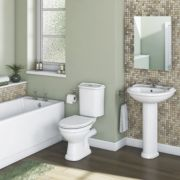 Chester Traditional Bathroom Suite with Acrylic Bath