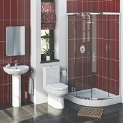 Walker Contemporary Quadrant Shower Enclosure Suite