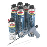 Soudal Window & Door Installation Foam Kit Gun Grade