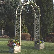 Rowlinson Arch with Planters 1.96 x 0.5 x 2.5m