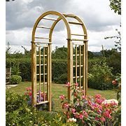 Rowlinson Garden Products Round Top Arch 1.24 x 0.65 x 2.5m