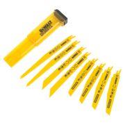 DeWalt DT2442-QZ Reciprocating Saw Blade Set 8 Pieces