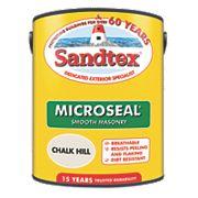 Sandtex Smooth Masonry Paint Chalk Hill 5Ltr