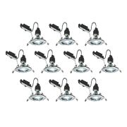 LAP Fixed LED Downlight Contractor Pack Chrome 240V Pk10