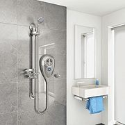 AKW Luda S Thermostatic Electric Shower Chrome 10kW
