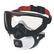 JSP Filterspec Pro Valved Respirator Black P3