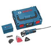 Bosch GOP 300 SCE 300W Multi-Cutter 110V with 8 Accessories