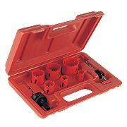 Electricians Holesaw Set 8 Pieces