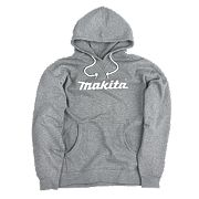 "Makita Anjo Hoodie Grey Large 44-46"" Chest"