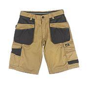 """Site Hound Multi-Pocket Shorts Khaki / Black 36"""" W"""