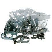 Hose Clips Selection Pack Pack of 60