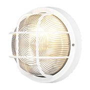 50166 Bulkhead Wall Light White 60W