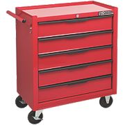Hilka Pro-Craft 5-Drawer Heavy Duty Tool Trolley