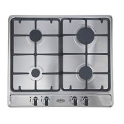 Belling GHU60CG STA Gas Hob Stainless Steel 500 x 580mm