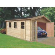 Bradenham 28 Log Cabin 3.8 x 4.4 x 2.7m