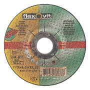 Flexovit Stone Grinding Discs 115 x 6 x 22.23mm Bore Pack of 5