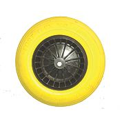 Belle Group Fort Flex Pro Wheelbarrow Wheel Yellow / Black 150