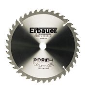 Erbauer TCT Circular Saw Blade 40T 184x16mm
