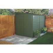Trimetals Titan 950 Double Door Pent Shed Metal 5' 6 x 9' 2
