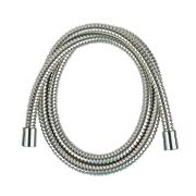 Moretti D Locking Brass Shower Hose Chrome 11mm x 1.5m