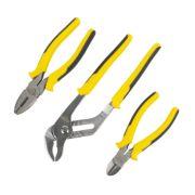Stanley DynaGrip Pliers Set 3Pcs