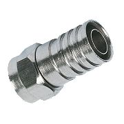 Labgear Weatherproof Connector Crimp F-Plugs Pack of 10