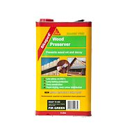 Sika Wood Preserver Fir Green 5Ltr
