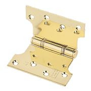 Eclipse Parliament Hinge Electro Brass 127 x 102mm Pack of 2
